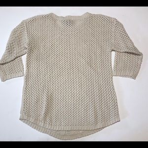 Chelsea & Theodore Sweaters - Chelsea & Theodore Medium Crochet Knit Sweater